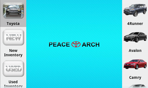 Peace Arch Toyota Dealer App