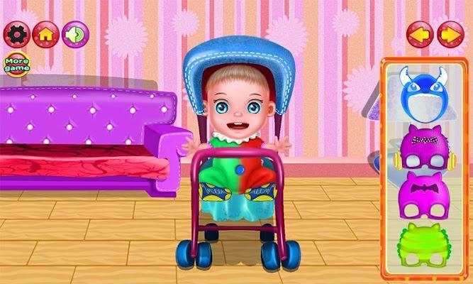 Newborn Laundry Baby Games - screenshot