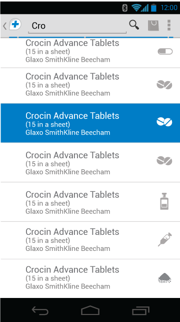Cheaper Medicines, Drug Info - screenshot
