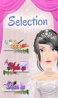 Screenshot of Bride Makeover