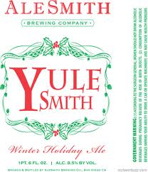 Logo of Alesmith Yule Smith Winter Holiday Ale
