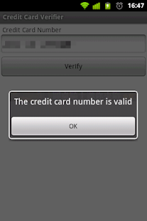 Credit Card Verifier- screenshot thumbnail