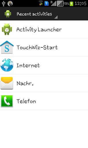 Activity Launcher 1.7.0 screenshots 1