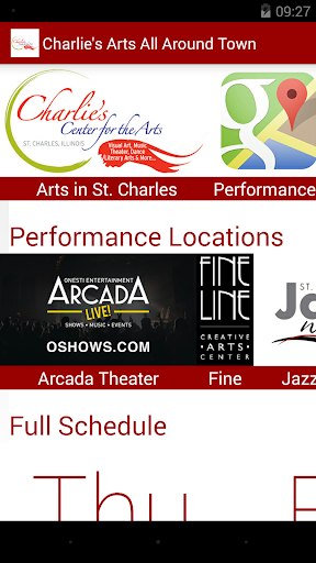 Arts in St. Charles