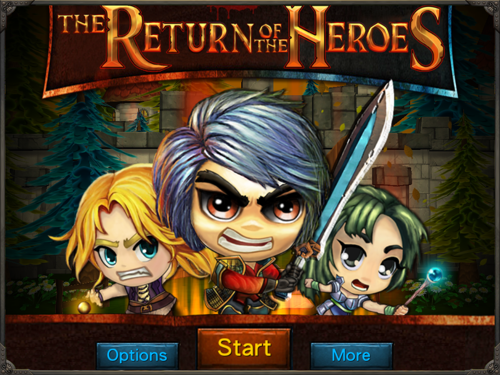 The Return of the Heroes- screenshot