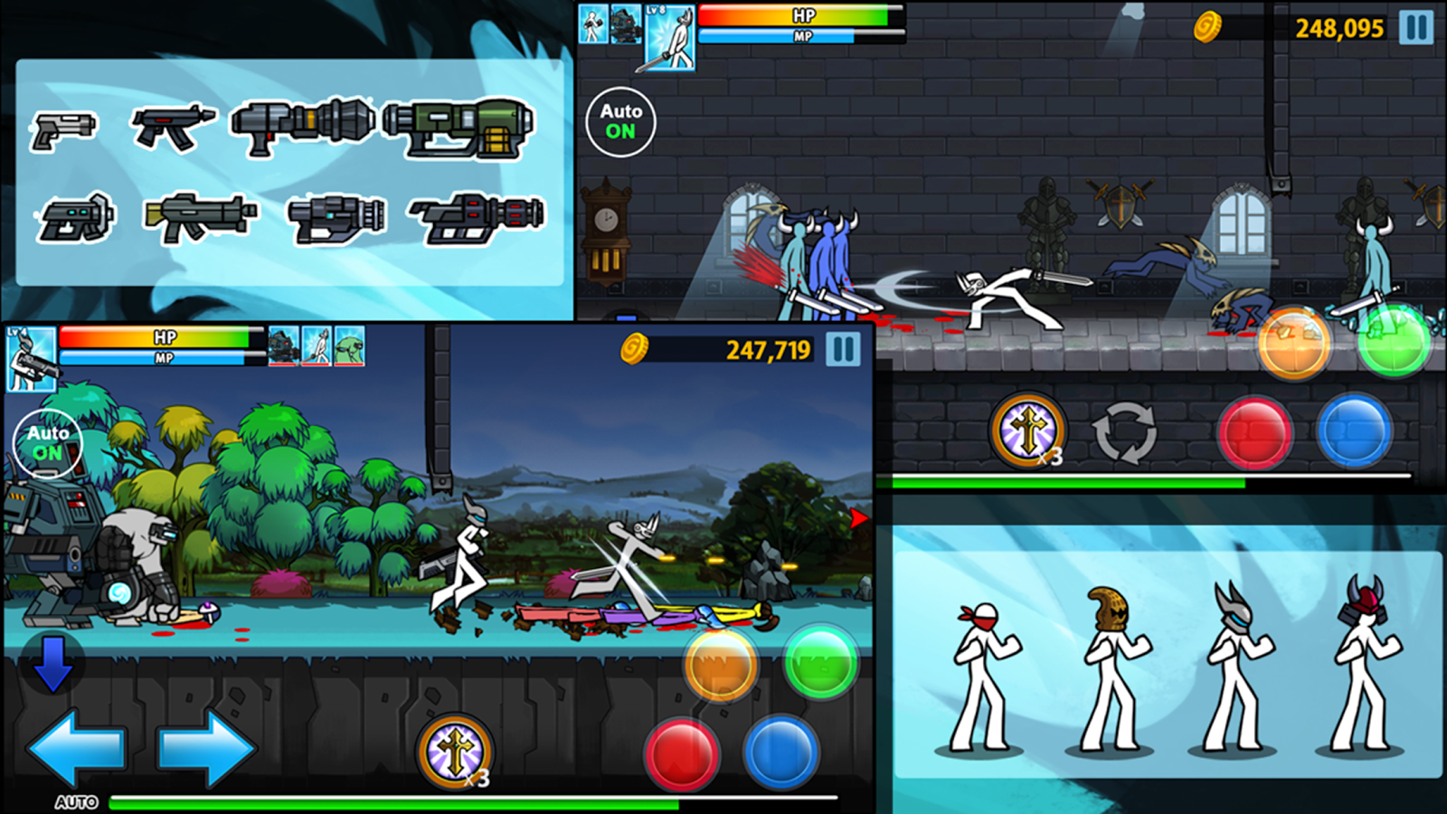 Anger Of Stick 4- screenshot