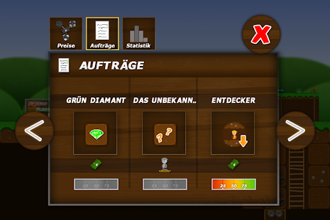 Treasure Miner - Minen Spiel Screenshot