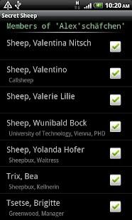 SecretSheep - hide caller ID - screenshot thumbnail