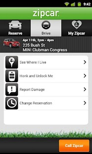 Zipcar - screenshot thumbnail