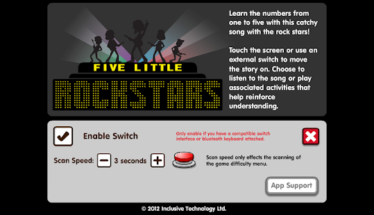 Five Little Rock Stars- screenshot thumbnail
