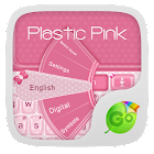 Plastic Pink GO Keyboard Theme icon