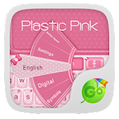 Plastic Pink GO Keyboard Theme