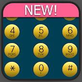exDialer Blue-Gold theme
