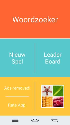 Woordzoeker Nederlandse