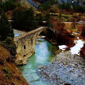 this old bridge by Argirios Kostaras - Buildings & Architecture Bridges & Suspended Structures