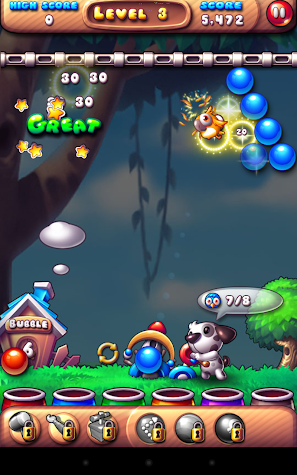 Bubble Bird Rescue Screenshot