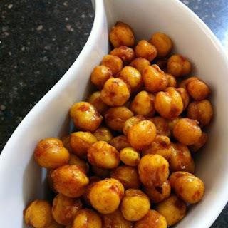 Spicy Garbanzo Beans.