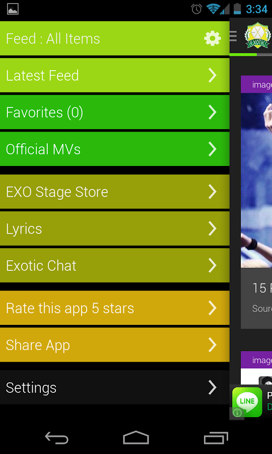 EXO (KPOP) Stage - screenshot