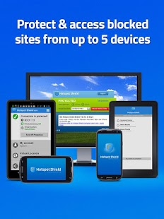 Hotspot Shield VPN for Android - screenshot thumbnail