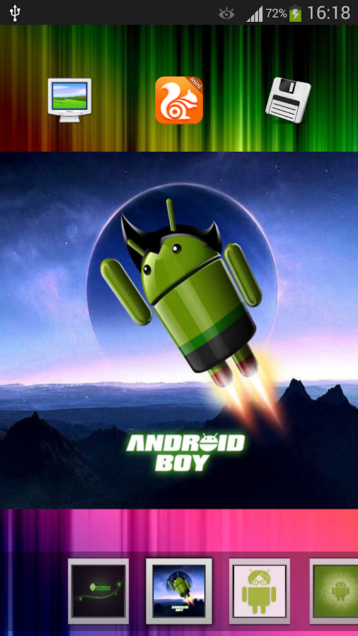 Android Logo Wallpapers - screenshot