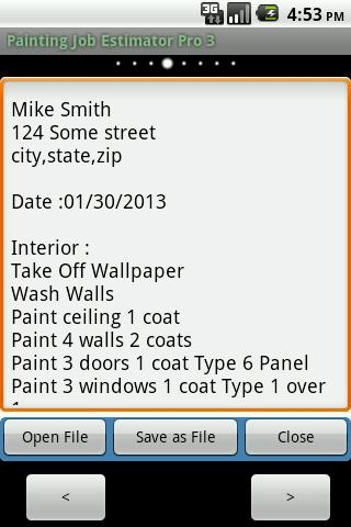 Painting Job Estimator Pro 3 Android Apps On Google Play