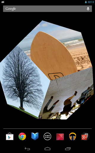 【免費個人化App】Gyro photo 3D Live Wallpaper-APP點子