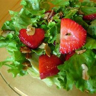 Nutty Strawberry Salad.