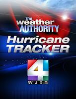 Screenshot of WJXT - Hurricane Tracker