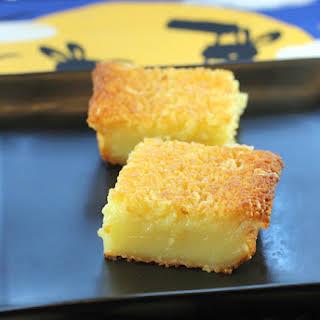 Butter Mochi.