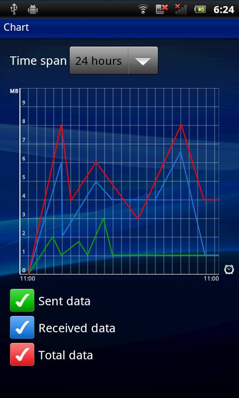 Data Monitor - screenshot