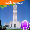 Baton-Rouge Street Map logo