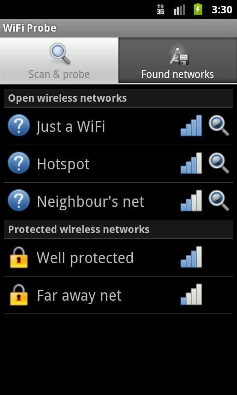 WiFi Probe - screenshot