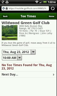 Wildwood Green Golf Club - screenshot thumbnail