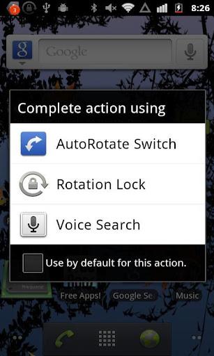 AutoRotate Switch