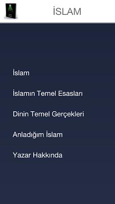 İslam'ın Temel Esasları - screenshot