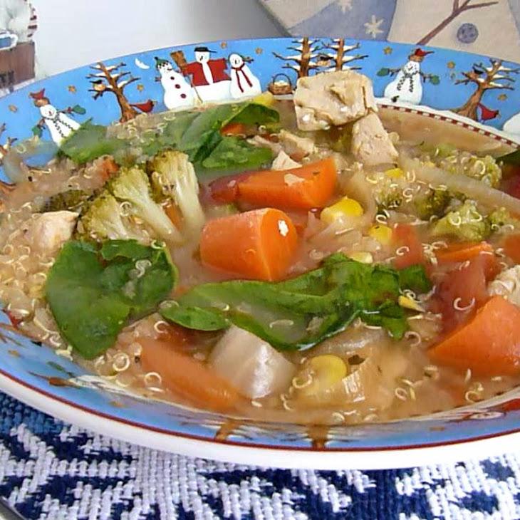 Chicken Quinoa Vegetable Soup