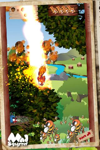 Mad Squirrel Rocknroll - screenshot