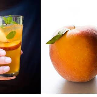 Spiked Peach Tea.