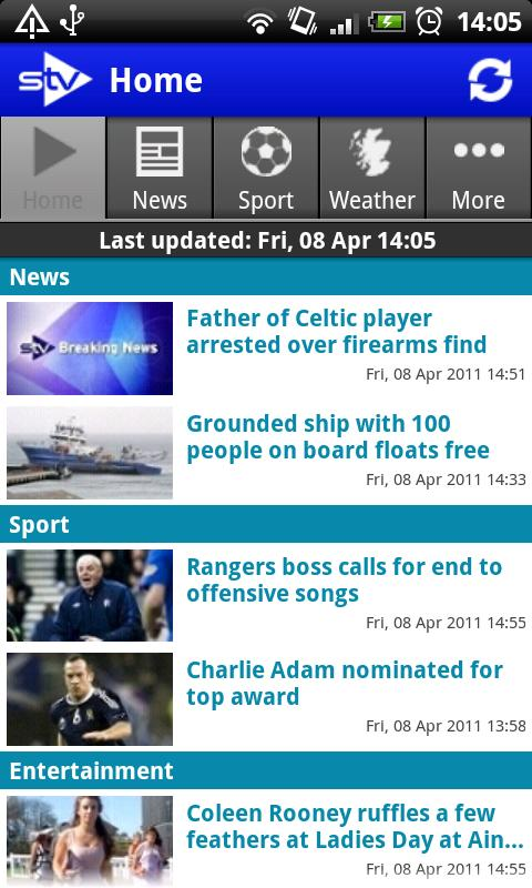 STV News - screenshot