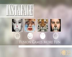 Screenshot of InstaFace