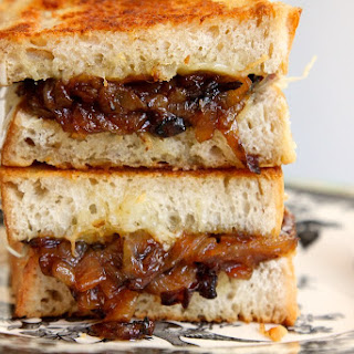 French Onion Soup Sandwiches.