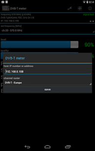 DVB-T meter- screenshot thumbnail