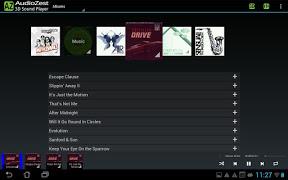 Screenshot of AudioZest 3D Music Player