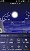 Screenshot of R.I.P. GO Theme for Halloween