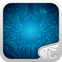 Circuit Board 3D Live Theme icon