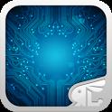 Circuit Board 3D Live Theme icon