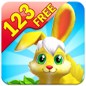 Bunny Math Race Free icon