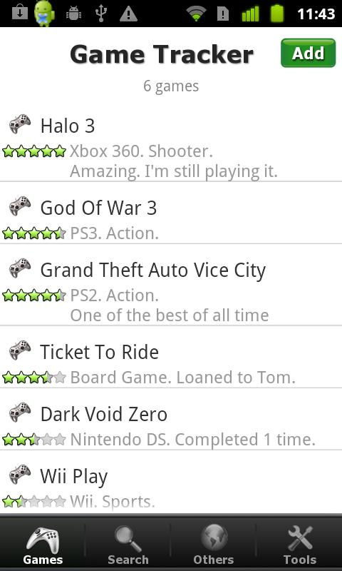 video game sale tracker
