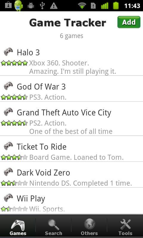 Video Game Tracker Pro- screenshot