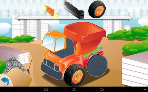 puzzle cars for kids screenshot thumbnail